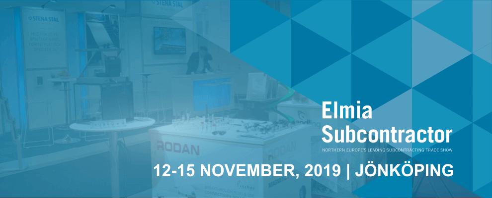 RODAN: Elmia Subcontractor 2019
