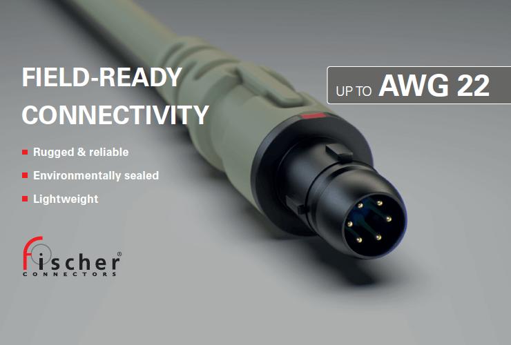 NY kontaktdon frän Fischer Connectors, Ultimate™80