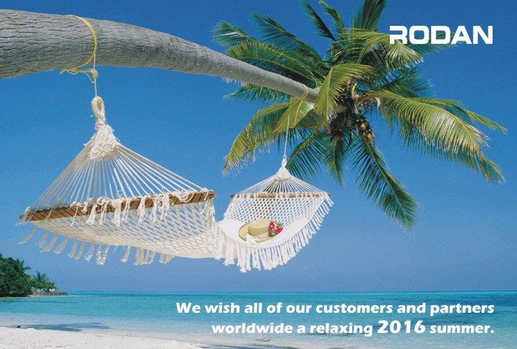 We wishes you all a very pleasant summer!